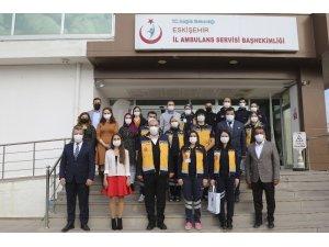 ESO'dan Eskişehir İl Ambulans Servisi Komuta Kontrol Merkezine ziyaret