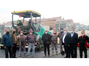 ÇESOB Başkanı Gür'den Aşgın'a asfalt teşekkürü