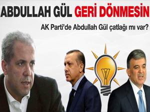 Abdullah Gül geri gelmesin!