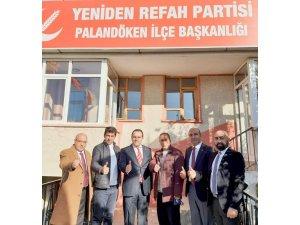Yeniden Refah Palandöken teşkilatı saha çalışmalarını sürdürüyor