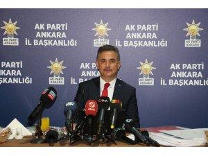 AK Partili Köse, Mansur Yavaş'ın 1 yılını değerlendirdi
