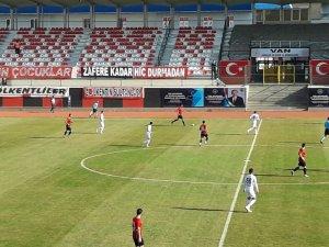 TFF 2. Lig: Vanspor FK: 2 - Serik Belediyespor: 2