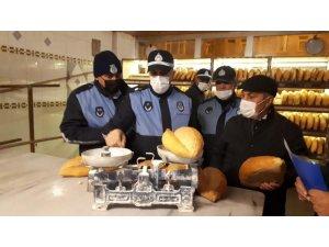 Kars'ta zabıta ekipleri fırınları denetledi
