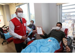 Başkan Kavuş'tan plazma bağışı çağrısı