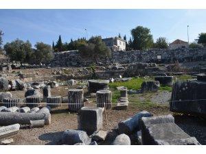 Tarihi tapınaktaki su sızıntısı sorunu ortadan kalkacak