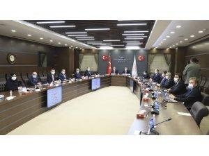 Bakan Elvan ve Bakan Gül,  Müstakil Sanayici ve İşadamları Derneği  yönetimi ile bir araya geldi