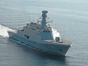 ABD Savaş gemisi Çanakkale Boğazı'ndan geçti.