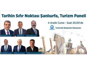 Şanlıurfa'da turizm faaliyetleri paneli