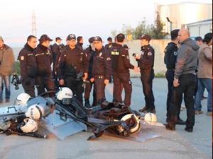Greif direnişine polis baskını