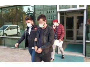 Samsun'da uyuşturucu ticaretinden koca tutuklandı, eşine adli kontrol