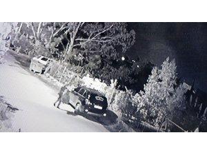 Hatay'da otomobili kundaklayan şüpheli yakalandı