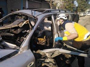 Suriye'nin Cindires beldesinde patlama: 4 yaralı
