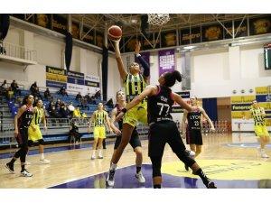 Kadınlar Euroleague: Fenerbahçe: 70 - ASVEL Feminin: 84