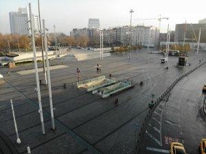 Taksim Meydanı boş kaldı