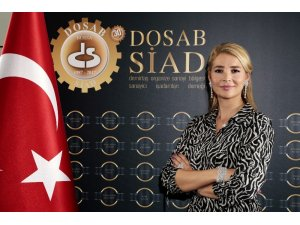 """DOSABSİAD Başkanı Çevikel: """"Güçlü kadın güçlü ülke"""""""