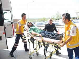 Tekirdağ'da döküm fabrikasında patlama: 2 yaralı