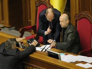 Aleksandr Turçinov'dan işgalcilere çağrı