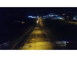 Anadolu'yu başkente bağlayan 43 ilin geçiş noktasında korona virüs sessizliği