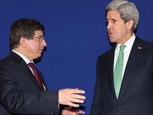 Davutoğlu, Kerry'le soykırım tasarısını görüştü