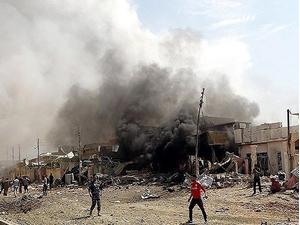 Irak'ta meydana gelen patlamada 10 kişi hayatını kaybetti