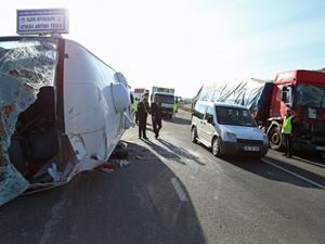 Kayseri'de zincirleme trafik kazası!