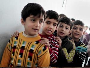 İstanbul'da açılan Suriye okullarında eğitime devam ediliyor