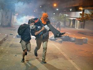 Nicolas Maduro muhalefetle görüştü