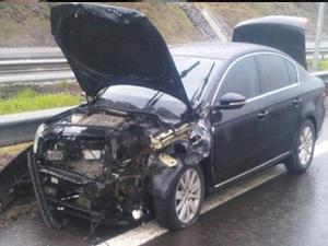 AK Parti Bolu Milletvekili kaza geçirdi