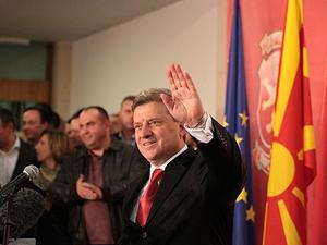 Makedonya'daki seçimlerde İvanov önde