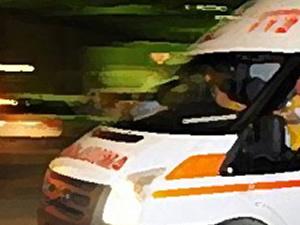 Ambulans şoförü hastayı taşırken kalp krizi geçirdi