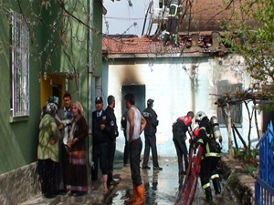 Aksaray'da yangın 2 çocuk hayatını kaybetti