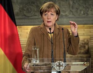 Angela Merkel ve Vladimir Putin Ukrayna'yı görüştü
