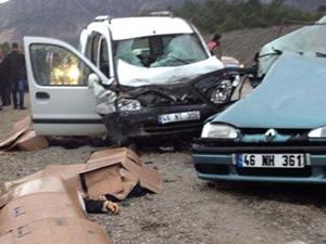 Korkunç kazada 3 ölü, 6 yaralı