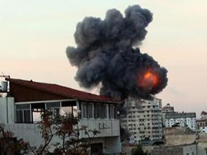Gazze'de  patlama: 3 kişi öldü, 5 kişi yaralandı
