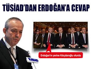 TÜSİAD'dan Erdoğan'a cevap