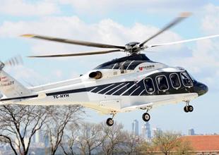 Sakaray'da helikopter düştü
