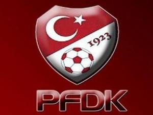 PFDK cezaları kesti!