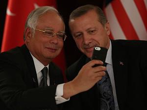 Başbakan'dan selfie fotoğrafı