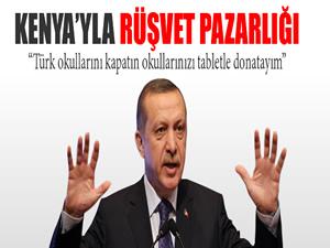 Başbakan Kenya'daki Türk okulları için harekete geçti
