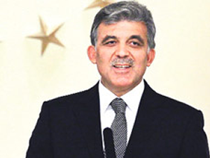 Abdullah Gül'den basın açıklaması