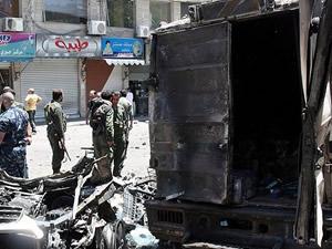 Humus'ta saldırı sonucu ölülerin sayısı 30 a yükseldi