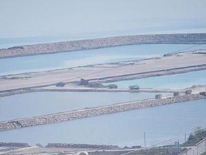 Deniz üzerine kurulan ilk havaalanın kule yapımına başlandı