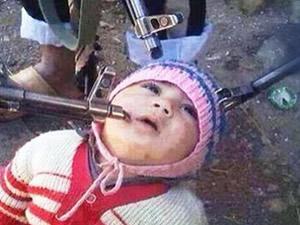 Silahı çocuğa doğrulttular ve…