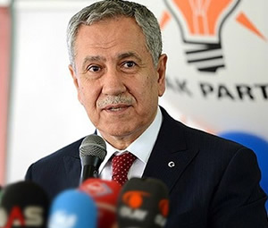 Bülent Arınç: Adayımız yüzde yüz Erdoğan
