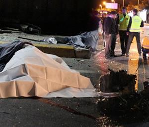 İstanbul Fatih'te trafik kazası: 1 ölü, 3 yaralı
