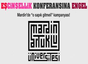 Mardin'de eşcinsellik konferansına engel