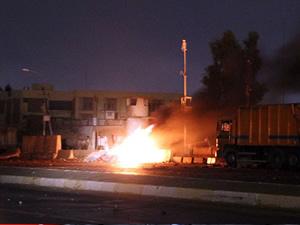 Irak Kerkük'te seçim merkezine saldırı