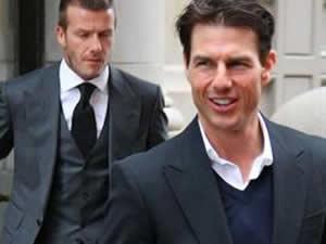 Cruise ve Beckham'dan gençlik iksiri