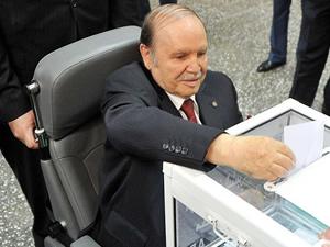 Cezayir'de Abdulaziz Buteflika yeniden cumhurbaşkanı