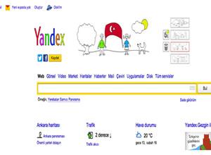 Yandex'ten 23 nisan kutlaması